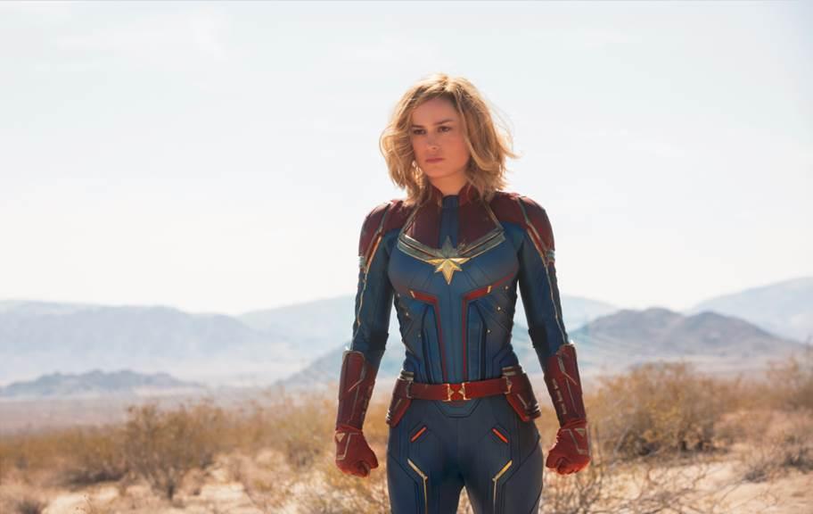 Marvel Studios' Captain Marvel Trailer and Poster