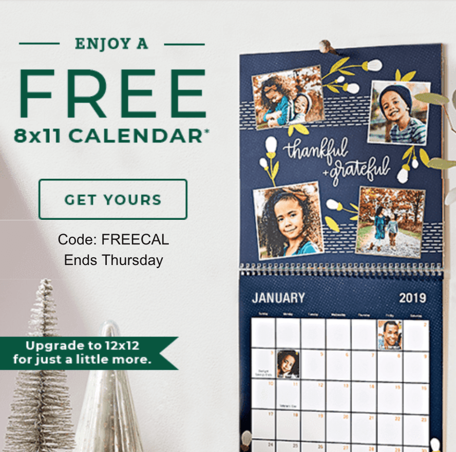 Free Shutterfly Photo Gifts! *Through FRIDAY Only!*