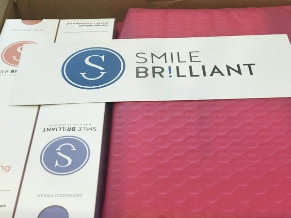 smile brilliant pink envelope