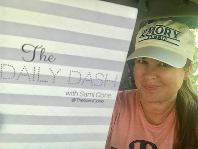 The Daily Dash: October 4, 2018 {Tennis Coach}