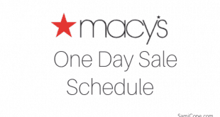 Macys One Day Sale Schedule