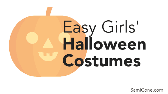 easy girls halloween costumes