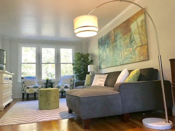 Unique LED Floor Lamps Home Staging Brightech