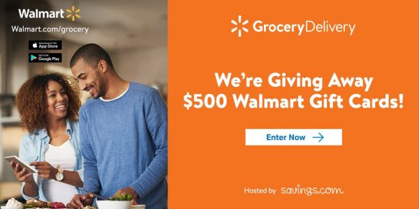 walmart grocery delivery giveaway