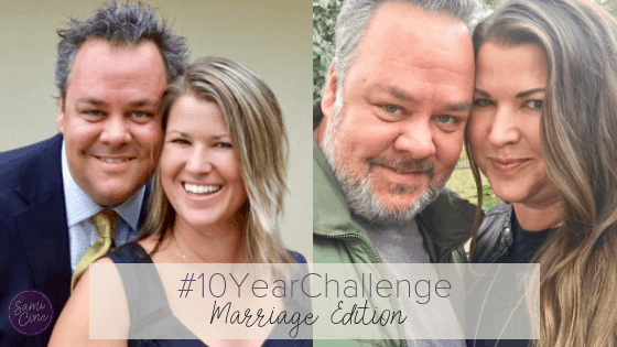 10 Year Challenge Marriage Edition Sami Cone