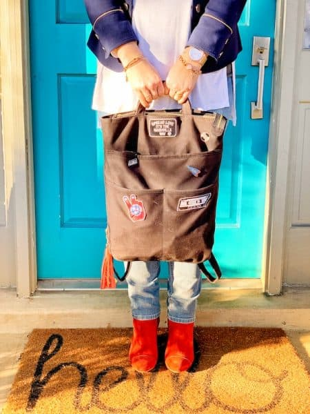 Project 615 backpack fashionable booties
