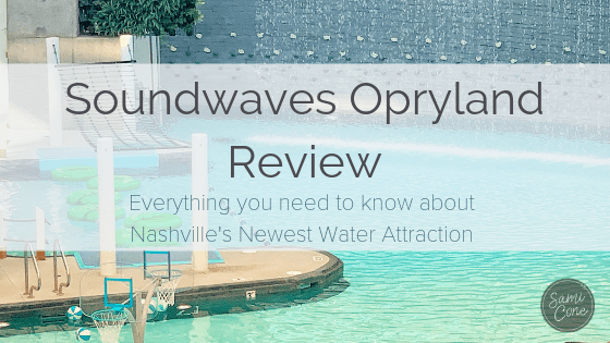 Soundwaves Opryland Review Nashville Water Attraction
