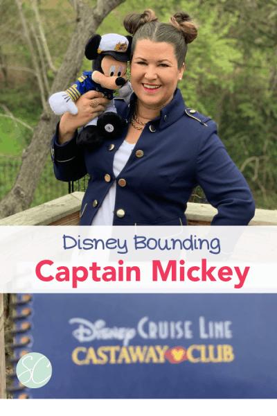 Disney Bounding Captain Mickey Pinterest