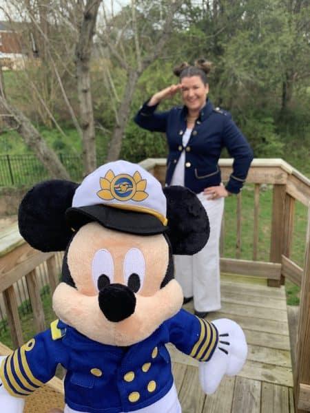Disney Bounding Captain Mickey Sami Cone