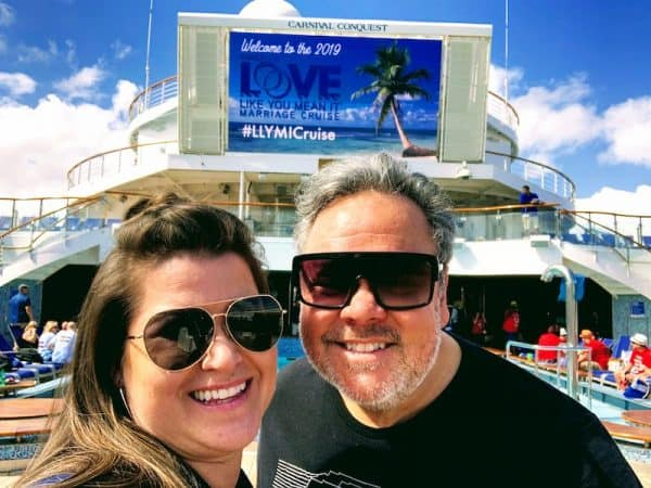 FamilyLife Love Like You Mean It Cruise 2019 couple on deck