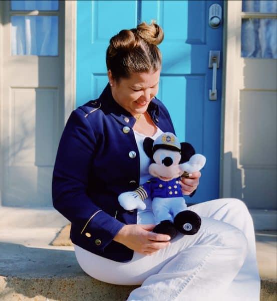 Sami Cone Disney Bound Sitting Cruise Mickey