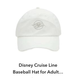 Disney Cruise Line Baseball Hat