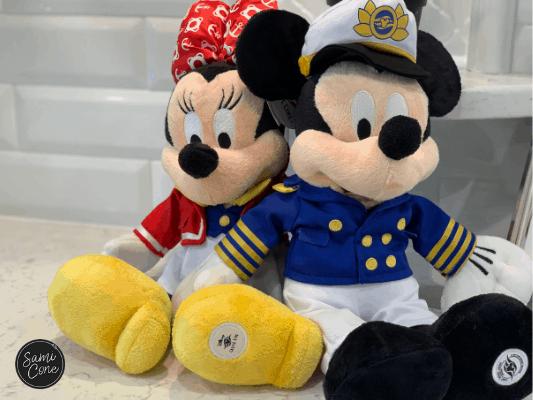 disney cruise mickey & minnie mouse