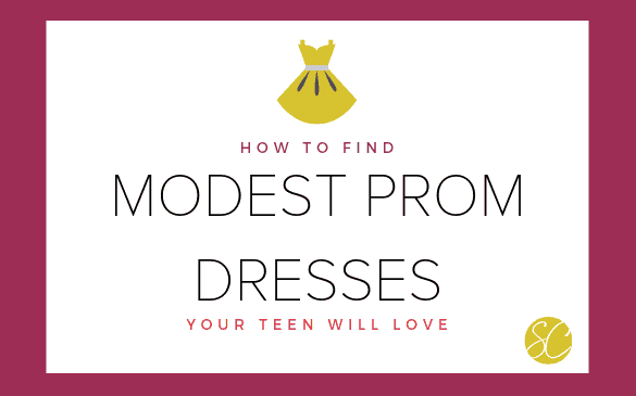 Find Modest Prom Dresses Teen Will Love