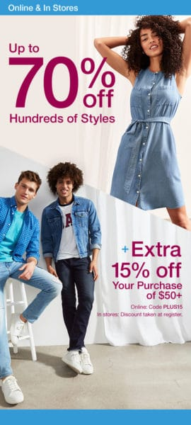 Gap Outlet Printable Coupon August 2019