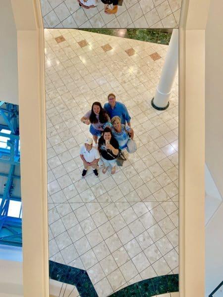 gardens mall mirror