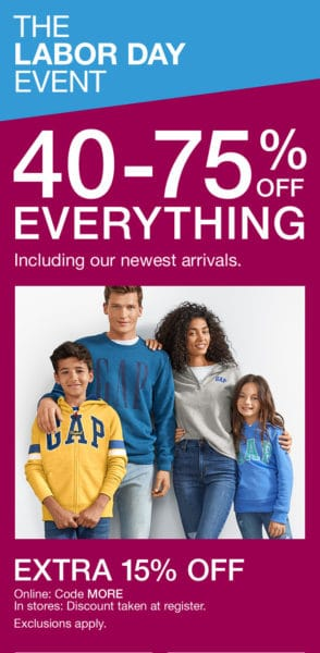 image regarding Gap Factory Printable Coupon known as Hole Outlet Printable Coupon September 2019 Discounts Freebies