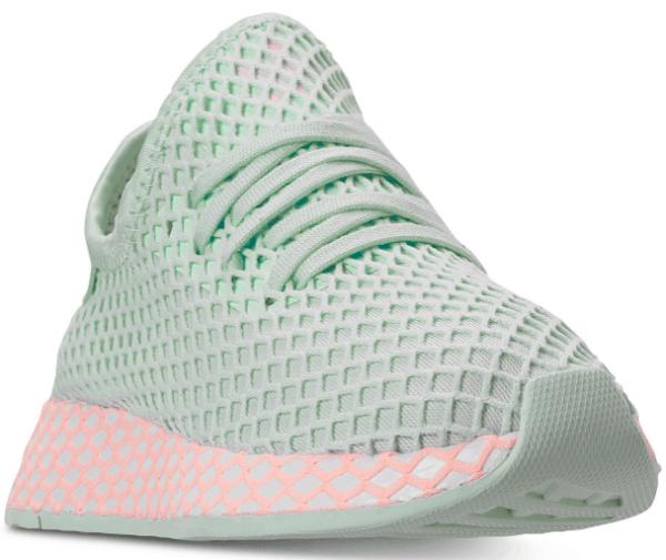 adidas girls deerupt sneakers finish line macys