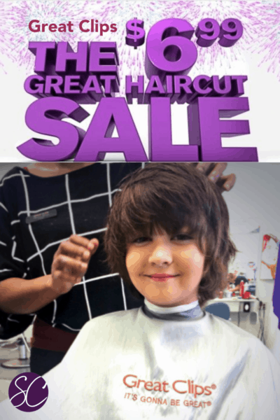 Great Clips 6.99 Haircut Sale