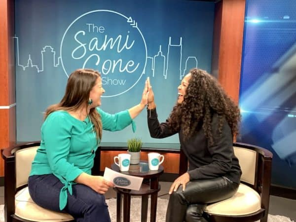 sami cone show high five samantha nelson October 2019