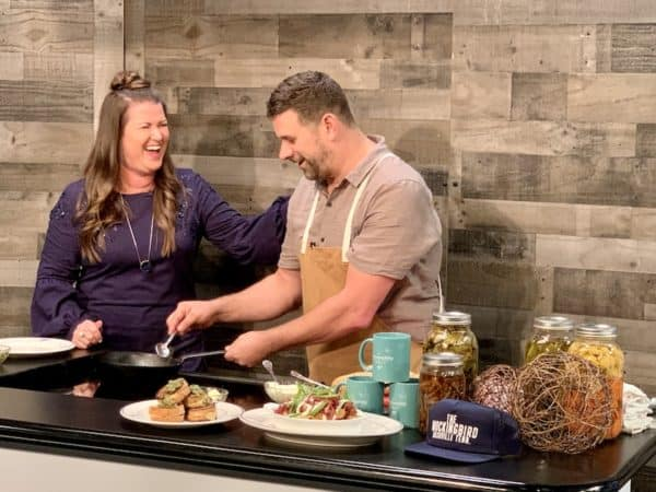 don't worry brie happy recipe laughing with chef brian riggenback of The Mockingbird Nashville