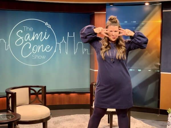 Episode 3 of the Sami Cone Show from November 2019 - Sami on set after the show