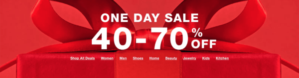 Macy's One Day Sale December 2019