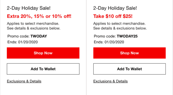 macy's two day sale coupons for 2-day holiday sale