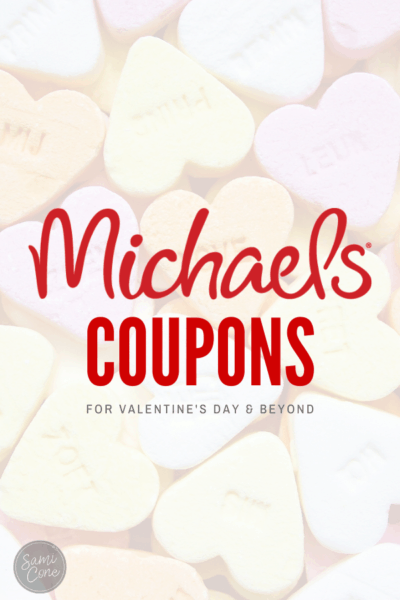 michaels coupons for valentine's day Pinterest