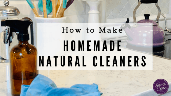 How to Make Homemade Natural Cleaners