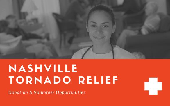 Nashville Tornado Relief Donation & Volunteer Opportunities