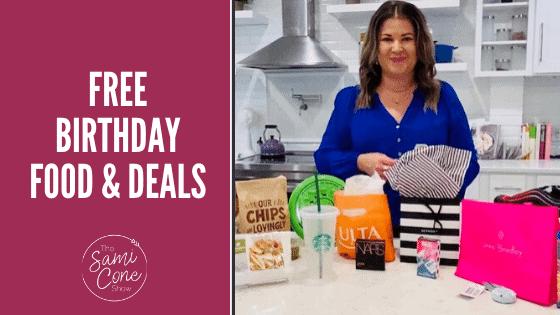 Free Birthday Food & Deals