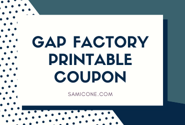 Gap Outlet Printable Coupon November 2020 Deals Freebies