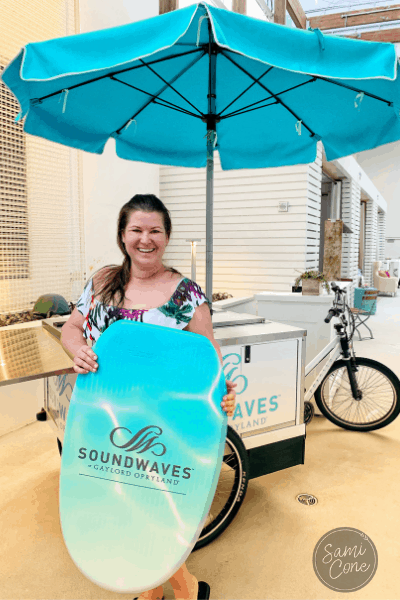 SoundWaves opryland surfboard