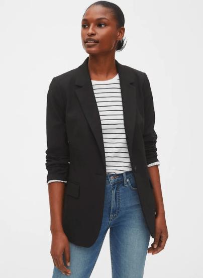 Gap Basic Black Blazer