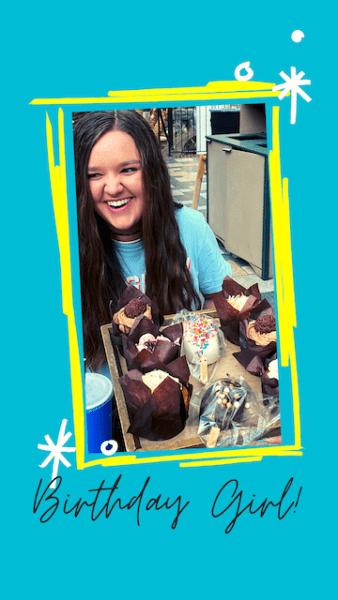 kariss 16th birthday girl opryland desserts