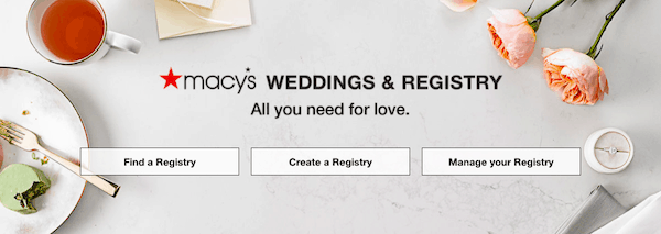 macy's wedding registry search