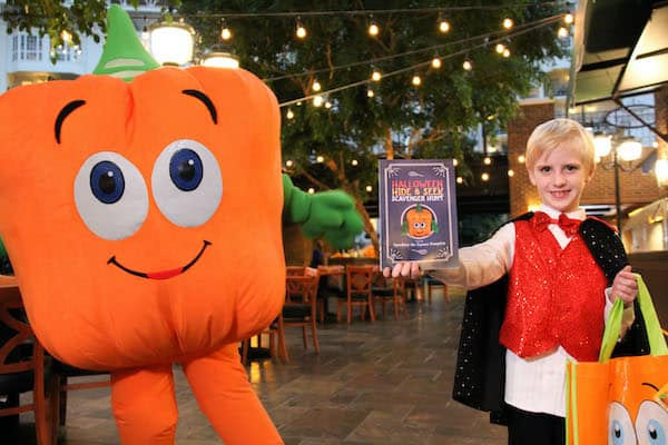 Opryland Spookley the Square Pumpkin hide & seek scavenger hunt