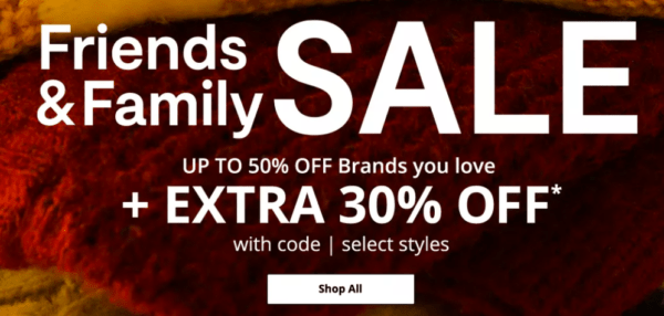 JCPenney Friends and Family Sale 2020
