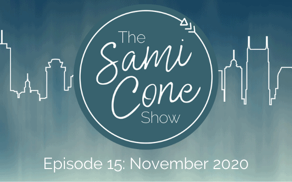 episode 15 november 2020 The Sami Cone Show