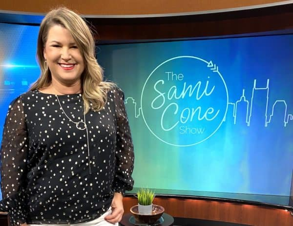 sami cone show December 2020 episode on stage