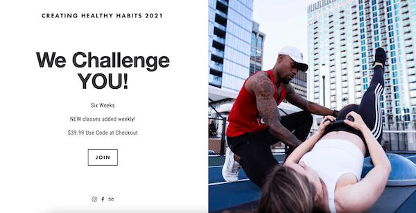 city fit concierge free 2021 fitness challenge