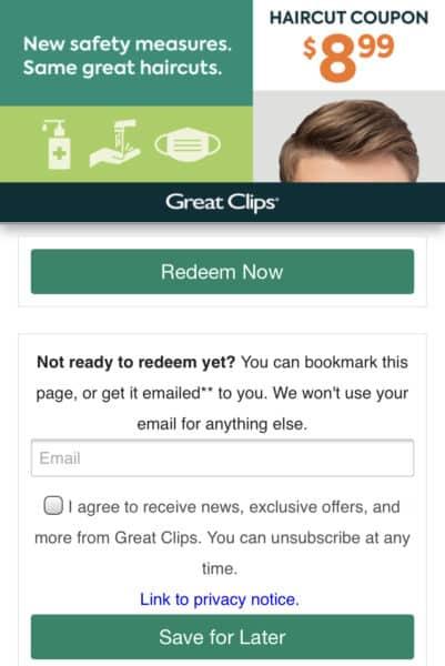 great clips printable haircut coupon 2021