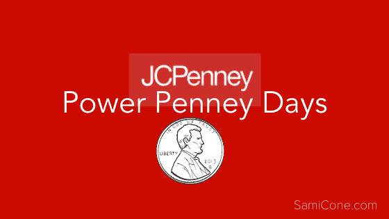 Power Penney Days 2021 JCPenney Deals