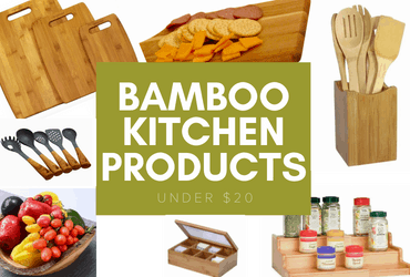 bamboo kitchen products under $20